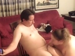A fellow 40 years virgin receives sucked by a doxy