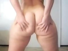 I took off my underwear on camera