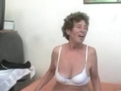 Unshaved Anal Granny