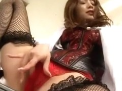 Crazy Japanese model Maomi Nagasawa in Best Threesomes, Stockings JAV clip