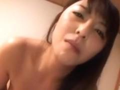 Hot mature Asian babe in kimono gets a hard fucking