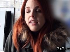 Real amateur Czech slut Amarna Miller banged for cash