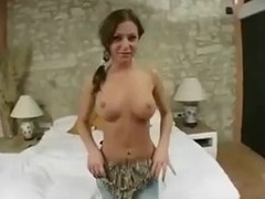 Romanian girl FIrst Casting Fuck,By Blondelover.