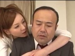 Busty Japanese babe enjoys passionate fuck
