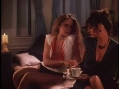Retro lesbian porn movie with hot wet pussies