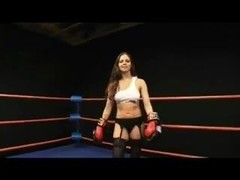 Topless Twink Boxing