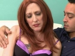 My 53yr old Redhead Granny Fuck Allies first Pro Movie Scene