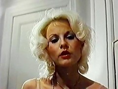 Seka, Eric Edwards in horny blonde from classic porn strips naked