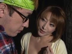 Reiko Kagami naughty Japanese milf gets a hot rear fucking