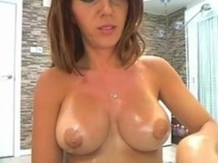 girl with delicious rounded tits shows them live on cam chat