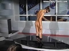 Sofia Fox - Gymnastic Video part 1