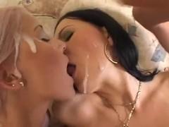 Cumshot & swallow Compilation 4