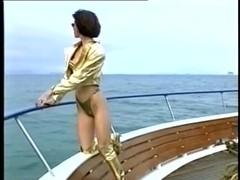 The golden boots girl