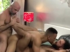 Interracial Muscle Bareback - Part 2 of 2