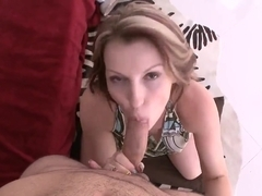 Busty milf Courtney Cummz seduces young stud