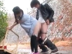 Amazing Japanese slut Ami Morikawa in Hottest Stockings/Pansuto, Doggy Style JAV clip