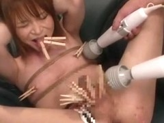 Naked chinese girl spied on a massage