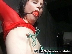 FetishNetwork Movie: Ultimate Nipple Torment 6: Kate