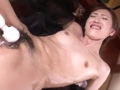Horny Japanese chick Kanon Hanai in Best JAV uncensored Anal scene
