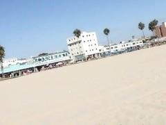 Mandy Armani & Ariana Grand in Venice Beach Pickup Video