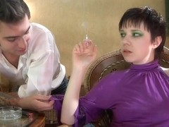 PantyhoseTales Movie: Helena A and Marcus