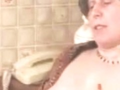 Horny grannies get banged by a young stud