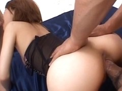 Sakurado Asian babe enjoys a hard fucking