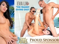 Eva Lin in The Tranny Diving Duo - IKillItTs
