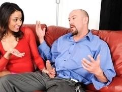 Gigi Loren,Will Powers in My New White Stepdaddy #08, Scene #01