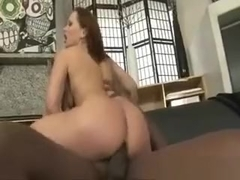 Horny Brunette Whore Goes Crazy Sucking