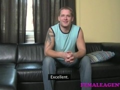 FemaleAgent: Talented cock