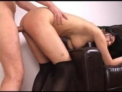 Cumisha With Hat Sucks And Gets Fucked To Orgasm