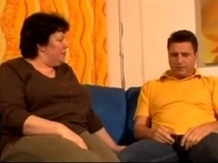 Mature BBW gets dicked and jizzed well
