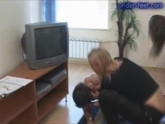 Under-Feet Video: Irina & Tamara