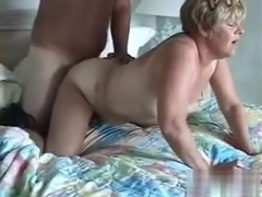 Anice close view of wife being doggyfucked and good sound effects