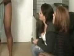 Mike dick flash two girls