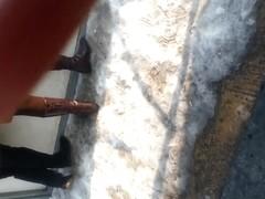 spy mature nylon in patinoar romanian
