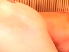 A hard big black cock fucks blonde in her tight asshole