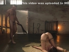 Big dick master fucks little slave