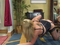 Incredible squirting, fetish xxx scene with amazing pornstars Aiden Starr and Flower Tucci from Everythingbutt