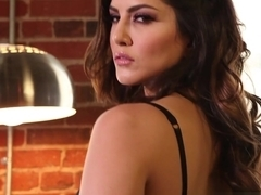 Crazy pornstar Sunny Leone in Incredible Pornstars, Redhead porn video