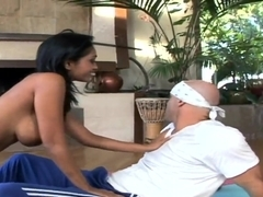 Gorgeous and exotic Priya Rai is a magic cock healer