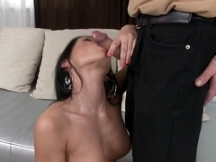 Amazing pornstar in Crazy Babes, Blowjob porn clip