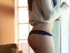 Dani Daniels masturbating