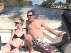 Incredible pornstar Angie Scott in fabulous blonde, outdoor porn video