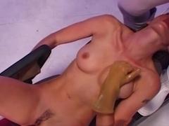 Best pornstar Sandra Mark in Horny Latex, Anal adult movie