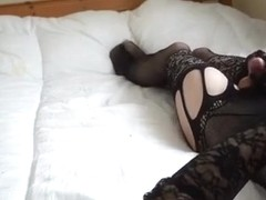 Best amateur shemale scene with Solo, Stockings scenes