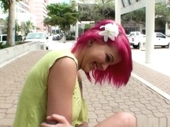 Josh & Lily in As pink as lily Video