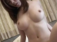 Busty milf babe in sexy lingerie gets a hot tit fuck and cum all over her big boobs!
