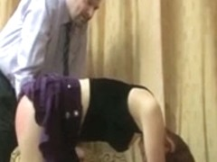 daughter+girlfriend are spanked 03